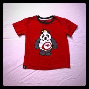 Boys LRG Skate Panda King T-Shirt 6